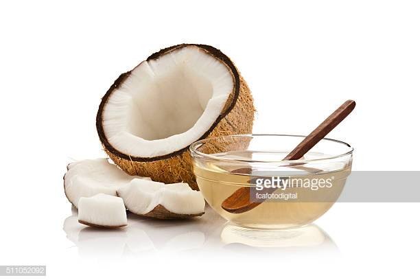 Coconut Oil - The antibacterial properties of coconut oil protect the skin from potential pathogens. Coconut is an excellent skin moisturizer.Coconut oil may help treat acne.