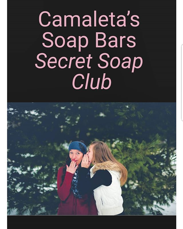 To receive emails on special pricing, contest winners, and up and coming products, subscribe to the secret soap club. Every week we will have free products to give away to our members who make a purchase over a certain amount during that week.  Our club members this week will receive two free 5oz soap bars (our choice) when you make a purchase of $20 and over. Send us a message via the contact us page, when you make your purchase.  https://www.camaletasoapbars.com/secret-soap-club-1  #free #giveaway #secretsoapclub #camaletasoapbars #steamboatsprings #colorado #handmadesoap #sale #gifts #wedding favors