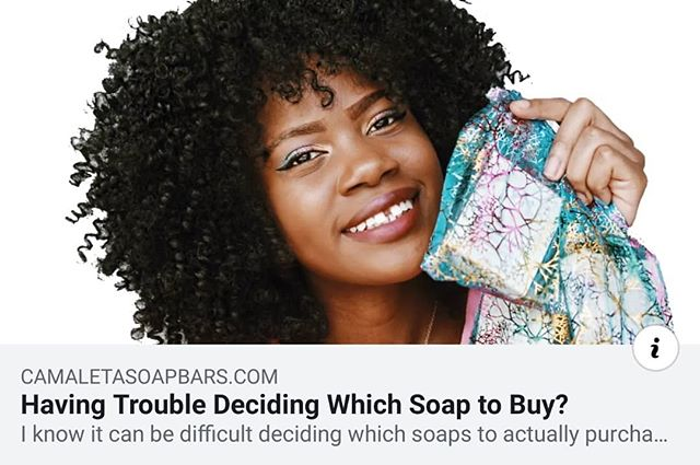 Hi everyone, take a look at our latest blog! I decided to make a YouTube video about the soaps. Which I believe will help those that are not sure which soaps they'd like to purchase. ❤ Happy Fourth of July! Enjoy 10% off your next order of $30 and over. Expires July 6, 2019. Discount Code: 8YH944P  Link to blog in bio