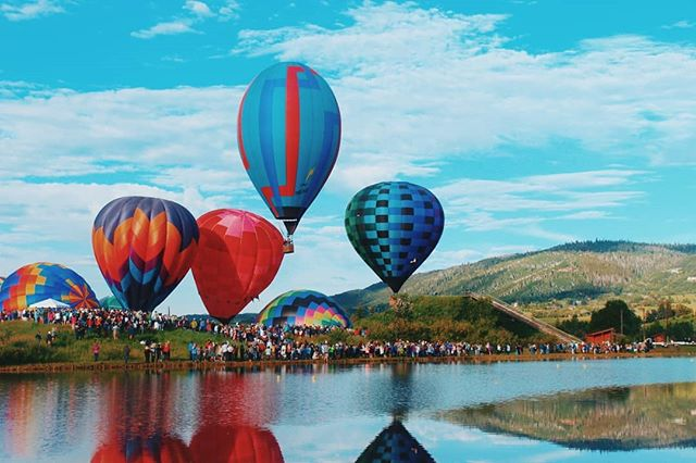 Another successful Hot Air Balloon Rodeo in Steamboat Springs!
