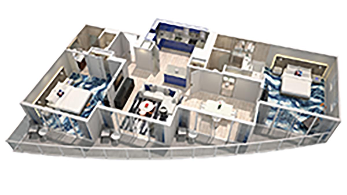 3D Oasis Model    Click for 3D virtual Tour of unit