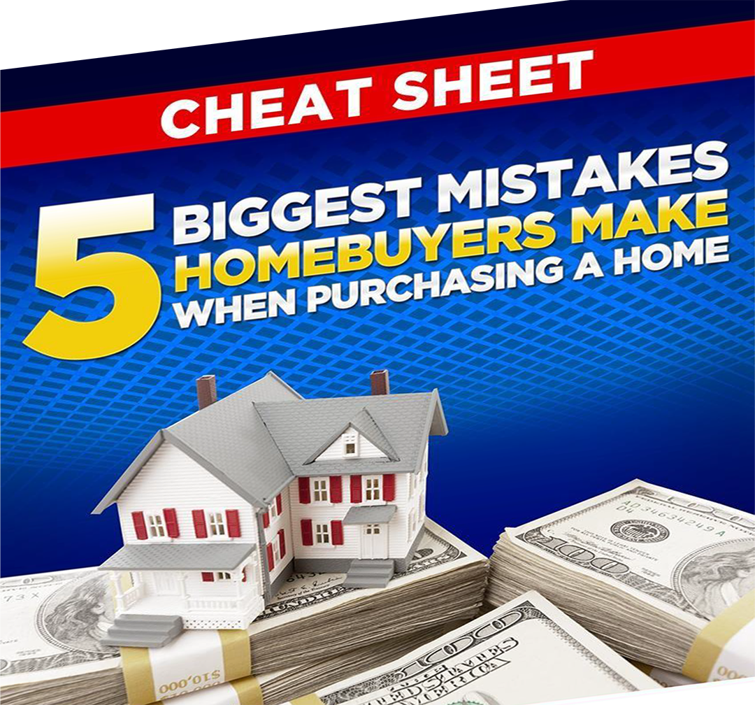 5 Common Mistakes Homebuyers Make.       You never know when you will finally come across your dream home.    That's why  before you start searching you should have your financing in place and know  exactly how much home you can afford.       Click Here to Download: