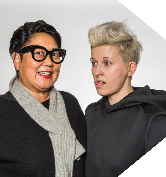 Noreen Morioka + Nicole Jacek - Head of Design Wieden + Kennedy