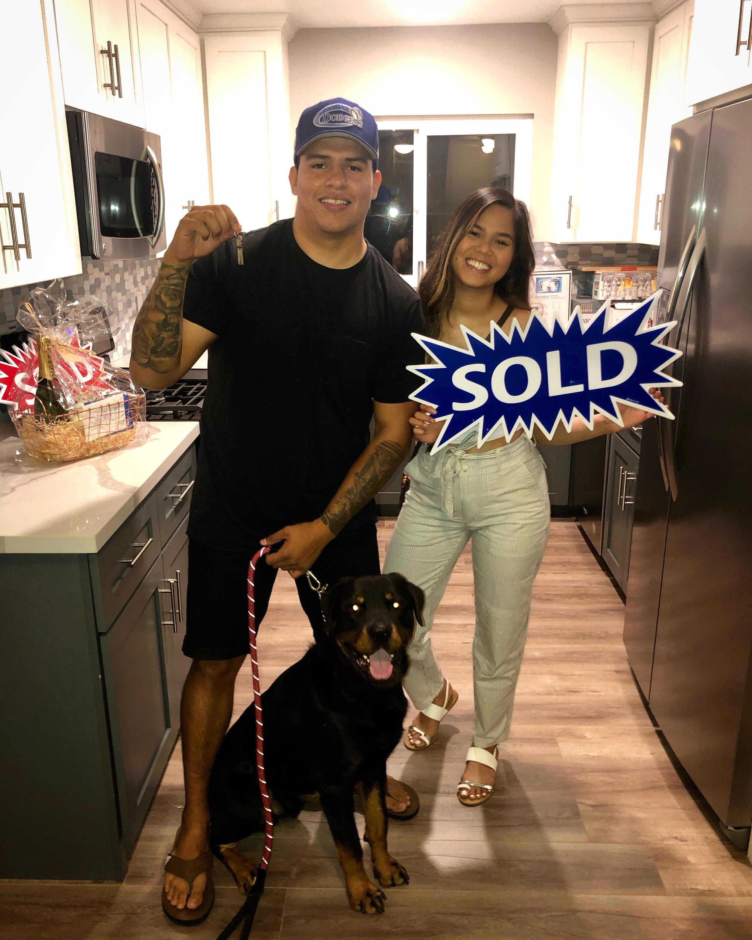Who You Work With Matters - As told by Nikole Ferrari (Buyers Agent)WELCOME HOME MAX, LILO & CHAPO! Another life changed! So excited for my client Max on the purchase of his first home! Max is 24 years old and is currently serving in the United States Navy as Hull Technician Petty Officer 2nd Class. He has been serving for 6 years now! Max and I began his search for a home in April and after a few months were able to get an offer accepted on a beautiful remodeled home in Chula Vista. Not only were we able to negotiate that the seller pay all of our closing costs but the house also appraised $10k higher than our purchase price therefore giving Max the pleasure of walking into his new home with $10k of equity in his pocket. Who you work with matters!! Sending all my love to these new homeowners! So excited for what lies ahead!