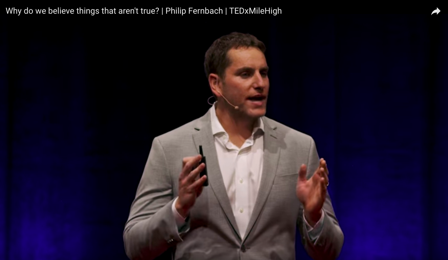 Why do we believe things that aren't true? | TEDxMileHigh