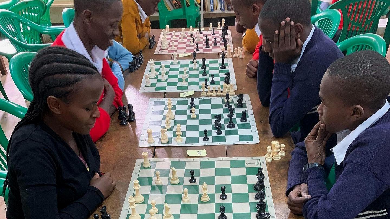 Teach Chess + Safari -