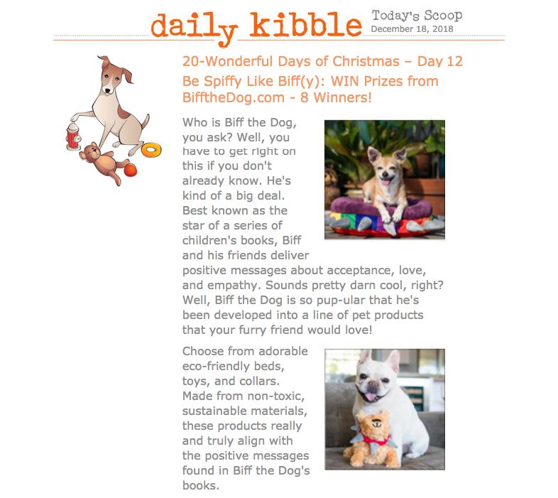 Daily Kibble — December 18, 2018