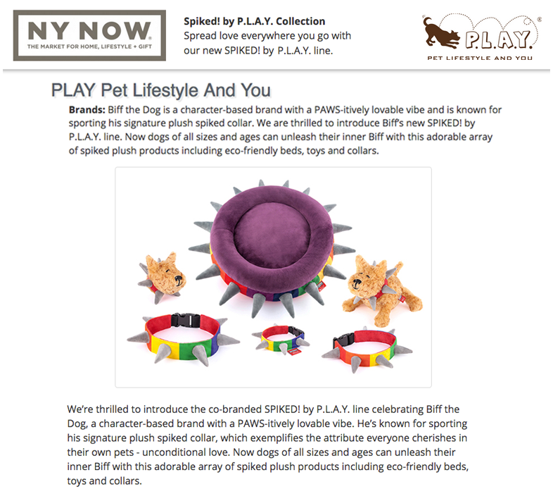 2018 NY NOW® Summer — SPIKED! by P.L.A.Y. Collection