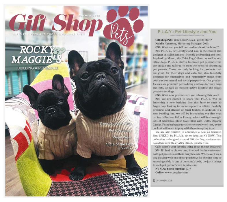 Gift Shop Pets — Interview with P.L.A.Y. — Summer 2018