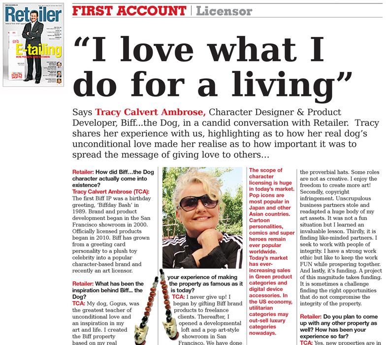 Retailer Magazine —October 2011