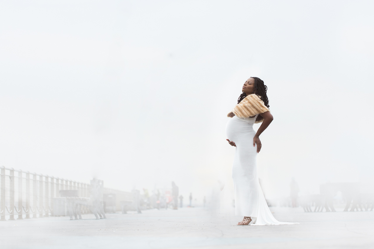 nyc maternity photoshoot white winter pier bay ridge-0715.jpg