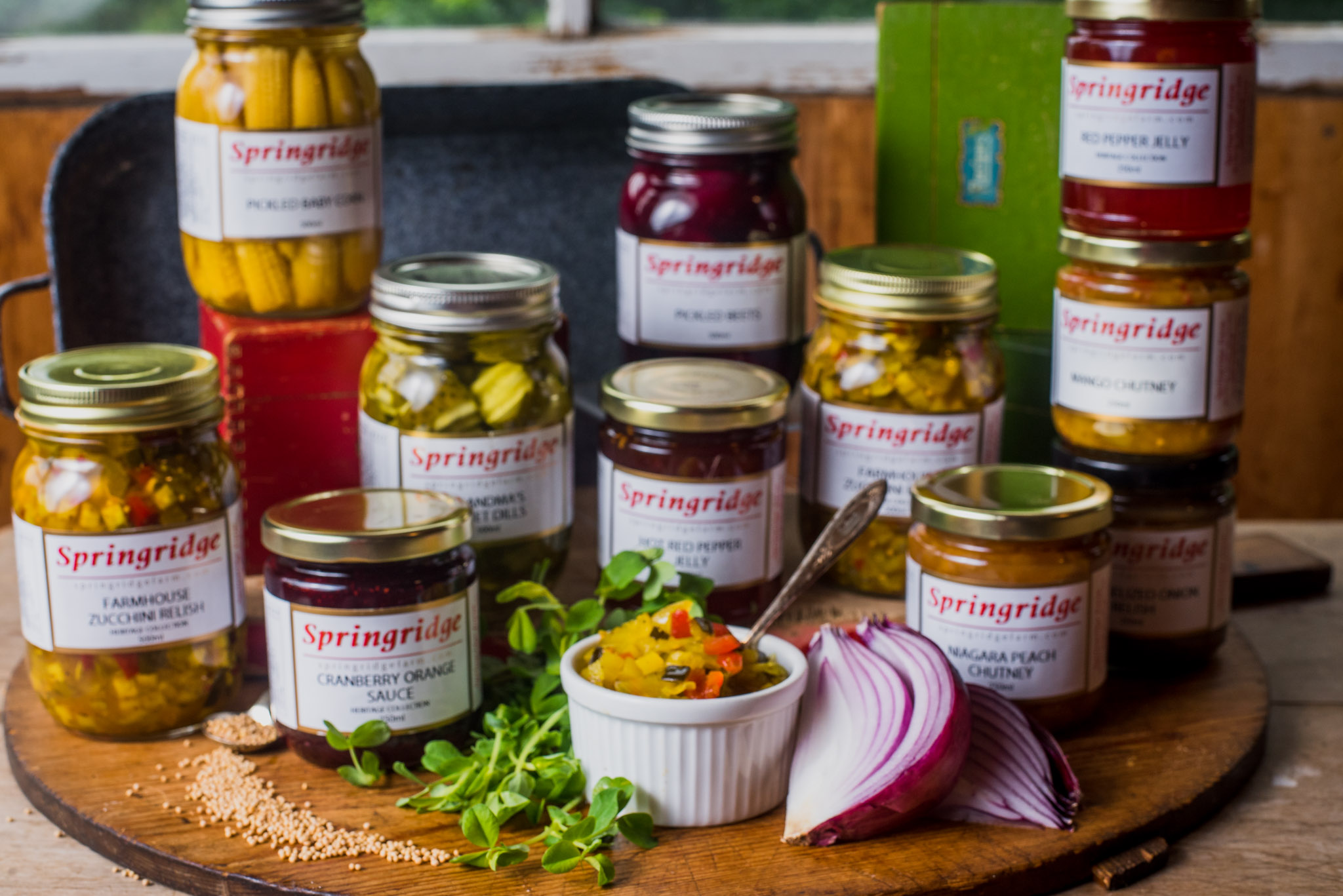 Food Styling for Springridge Farms