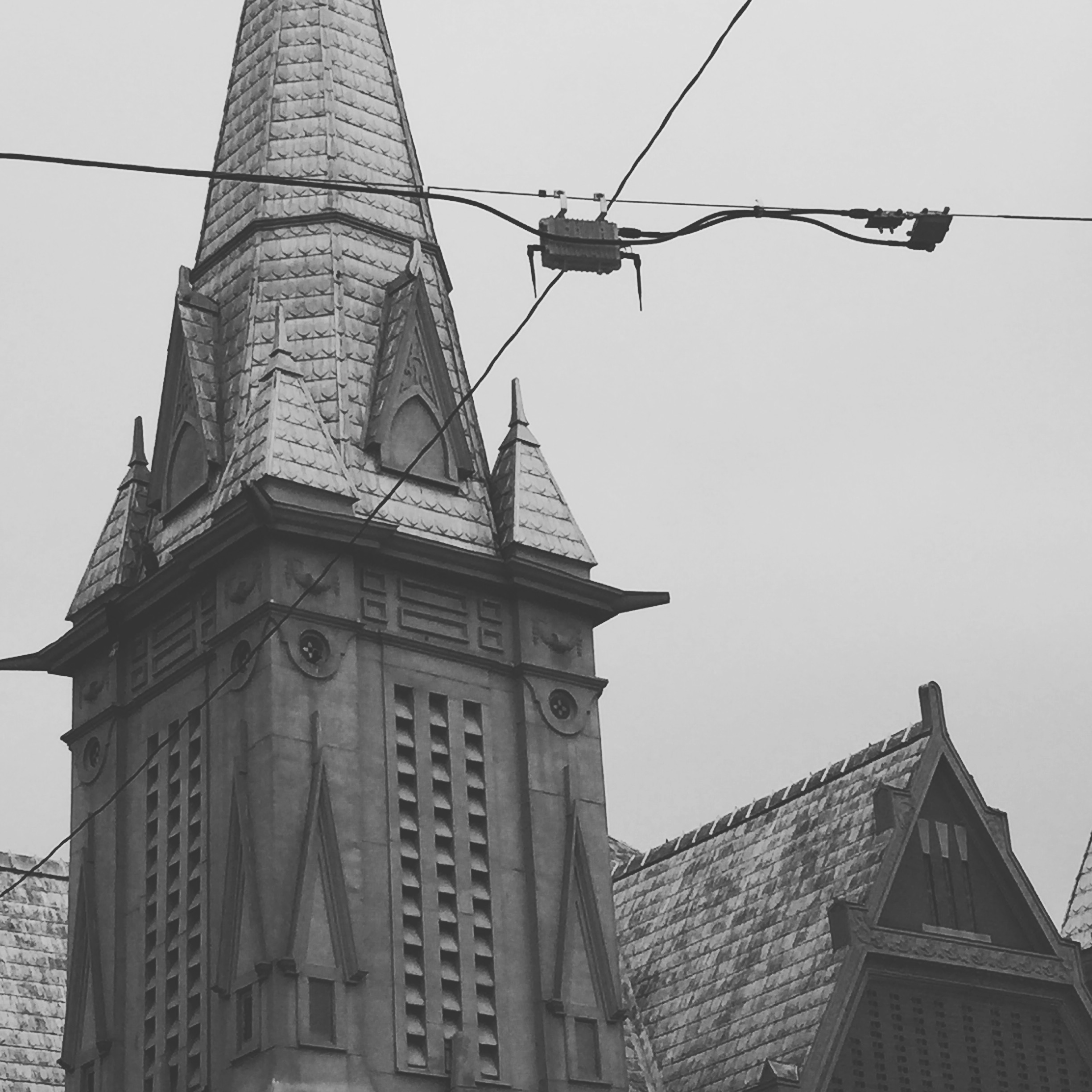 Church Spires, 2016. Photograph by Ginger Cochran
