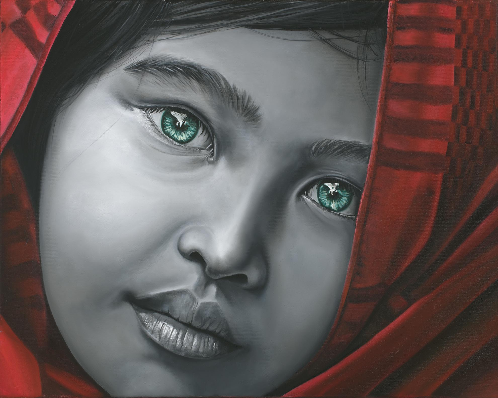 Yuva, 2018, Oil on Canvas, 16 x 20 inches, $832