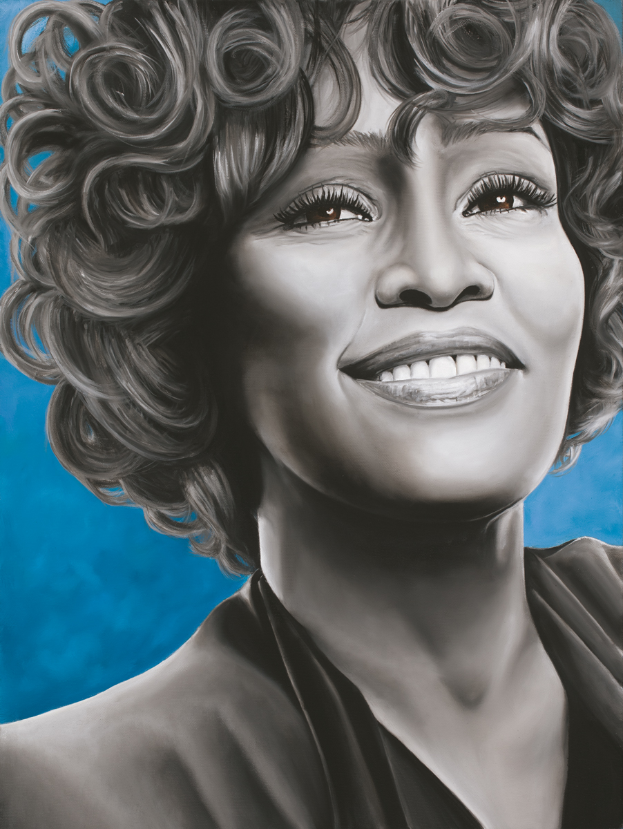 Whitney, 2018, Oil on Canvas, 24 x 18 inches, $1,123