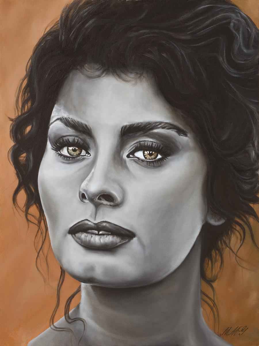 Sofia, 2018, Oil on Canvas, 16 x 12 inches, $750