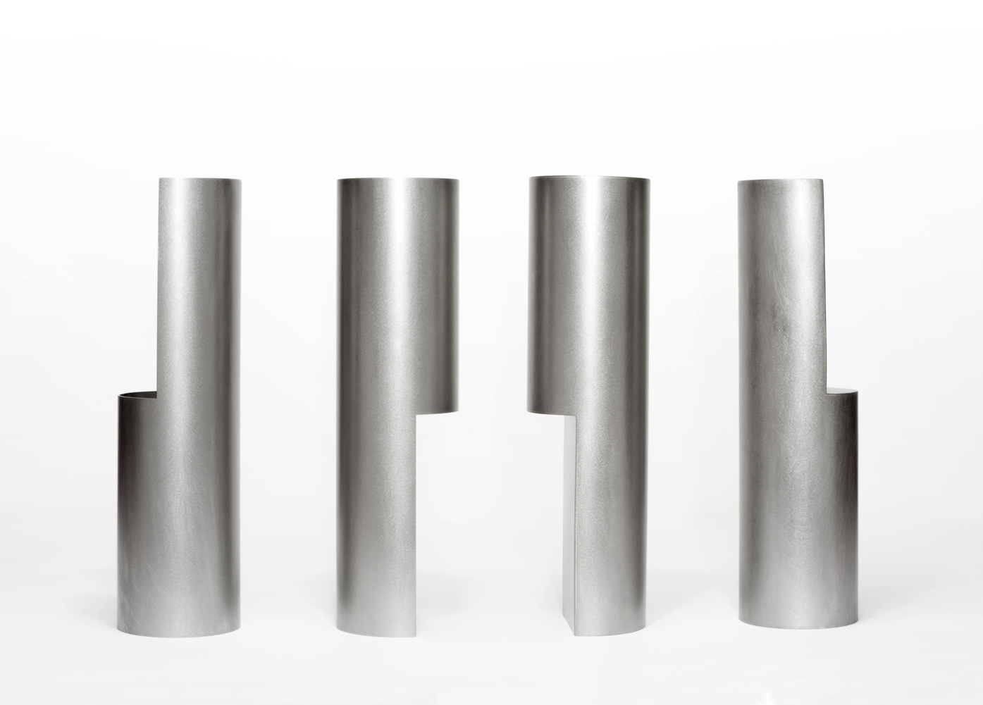 Group of Four, 2018, Steel, 320 x 88 each, $3,100
