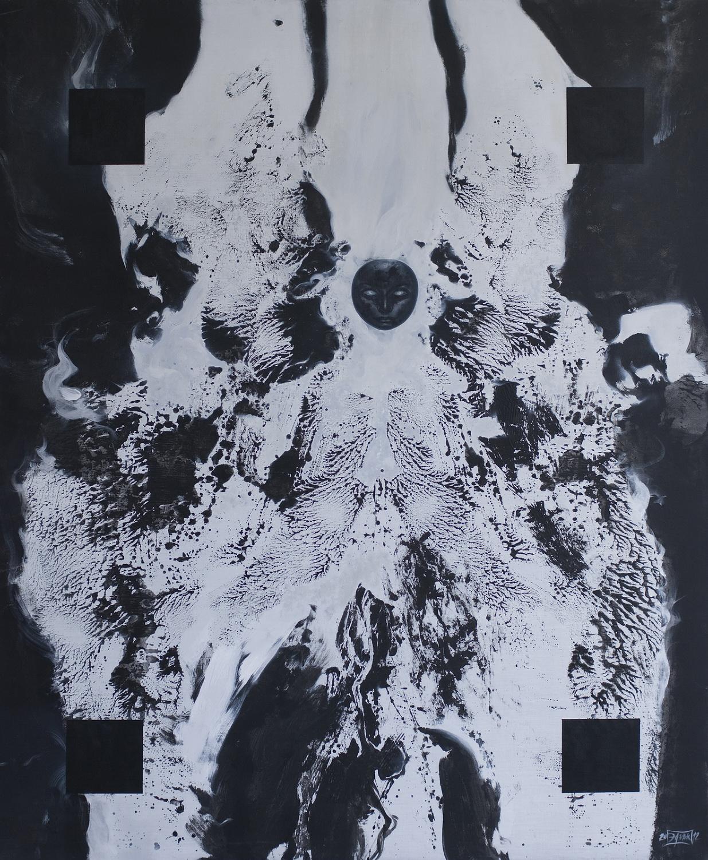 Seraf, 2012, Acrylic on canvas, 200 x 165 cm, $1500