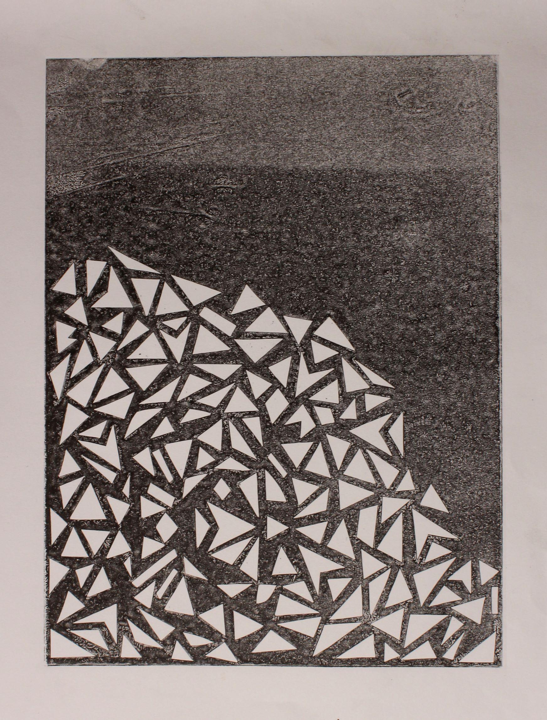 Triangle Print 03, 2017