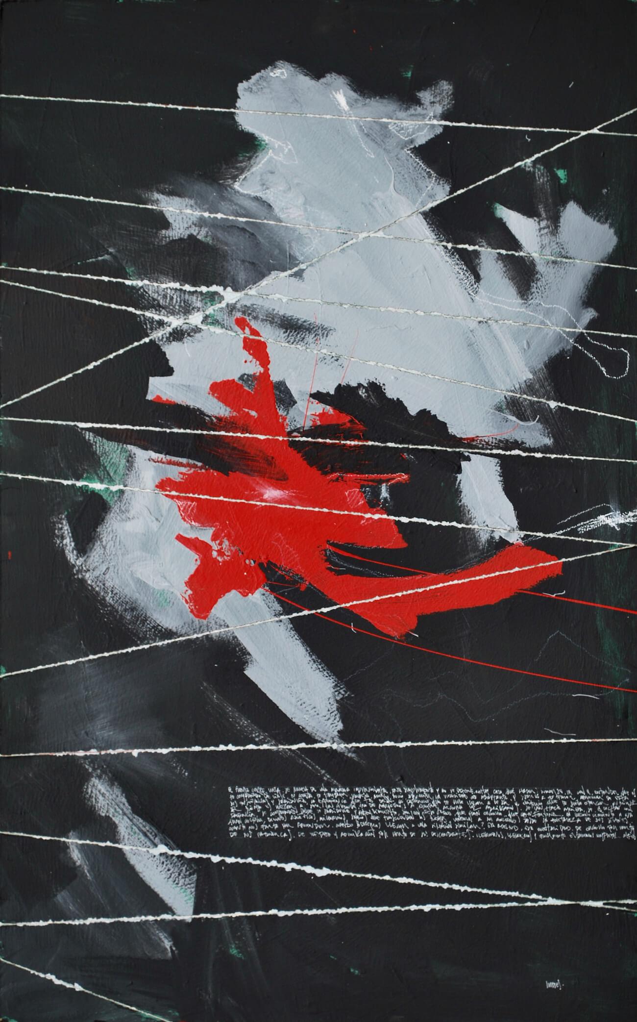 RUDOLF, 2018, acrylic, 122 x 76 cm, $800 US