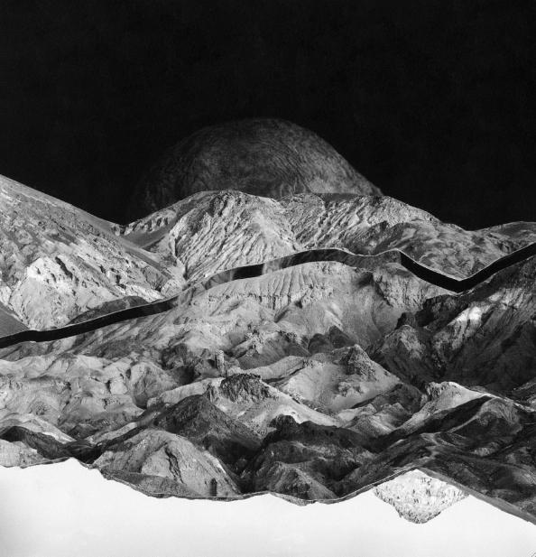 Peach, 2018. Artist:  Megan Marunowski , Photo Collage, 8 x 8 inches, $100