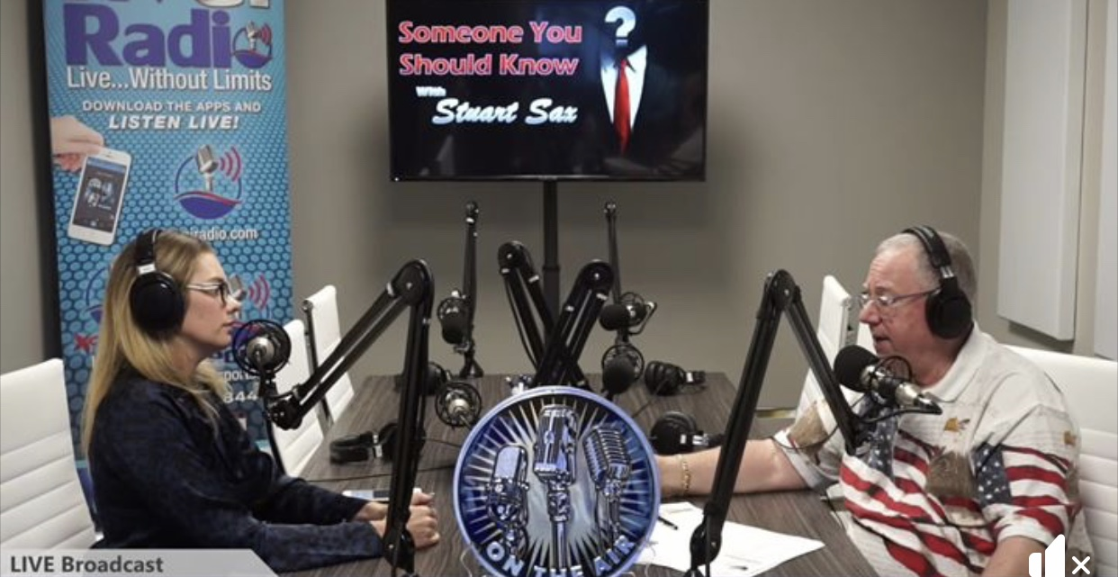 KVGI Radio interview: Someone You Should Know, with host Stuart Sax