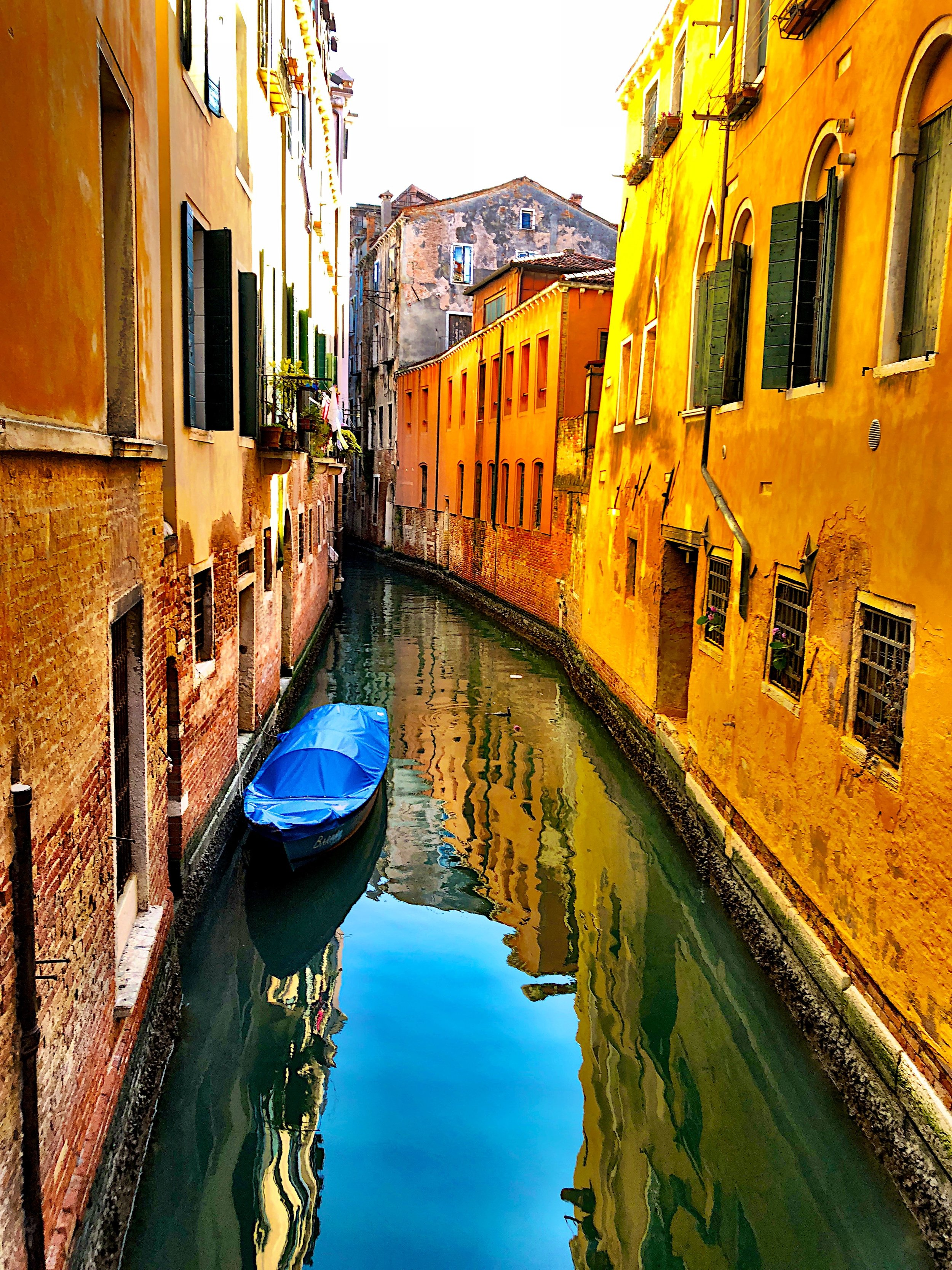 A Ray of Sunshine on a Cloudy Day in Venice, 2018, Metal Print, 30 x 36, $600