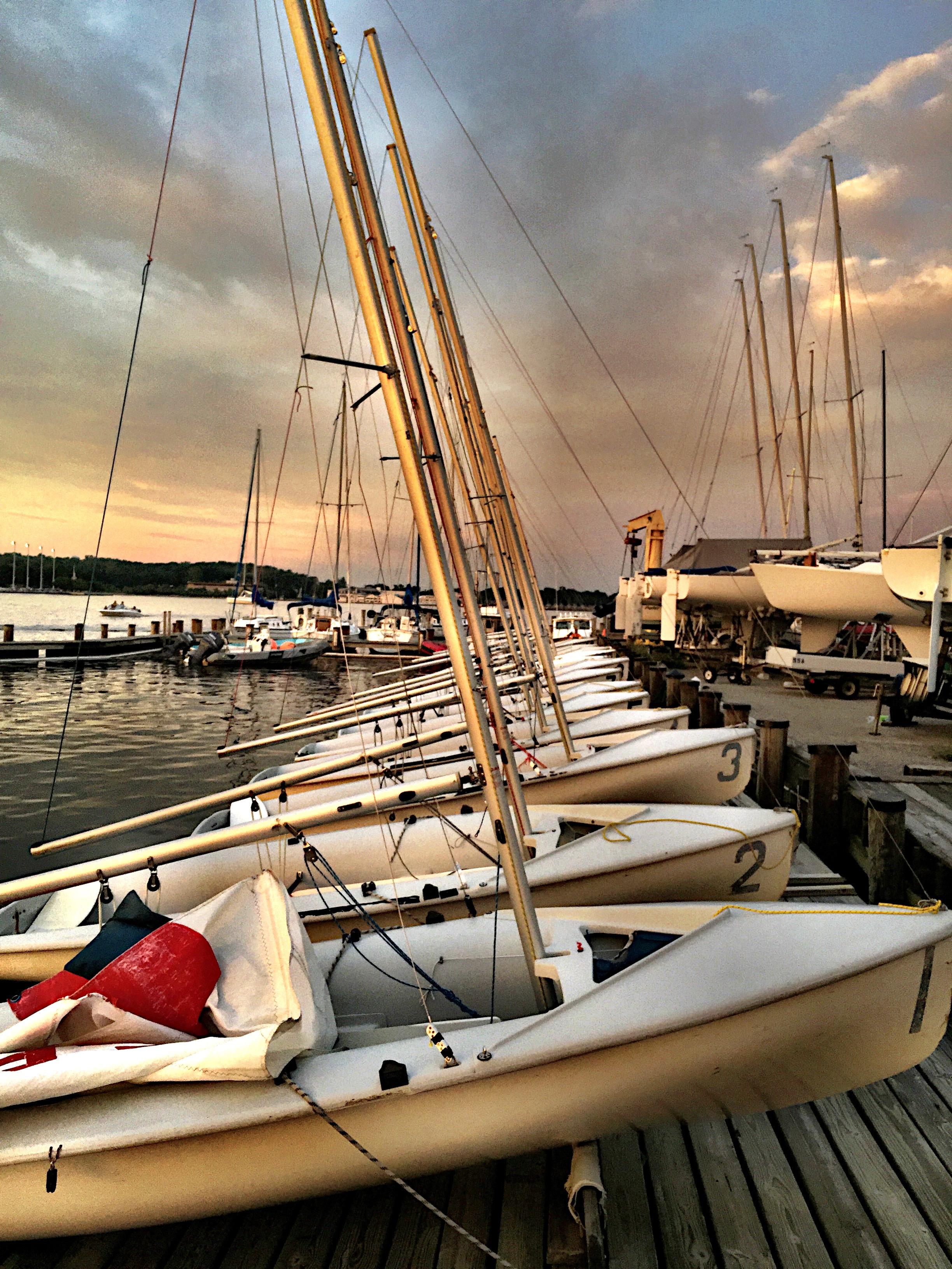 Ready to Sail, SSA, Annapolis, MD, 2018, 18 x 21, $400