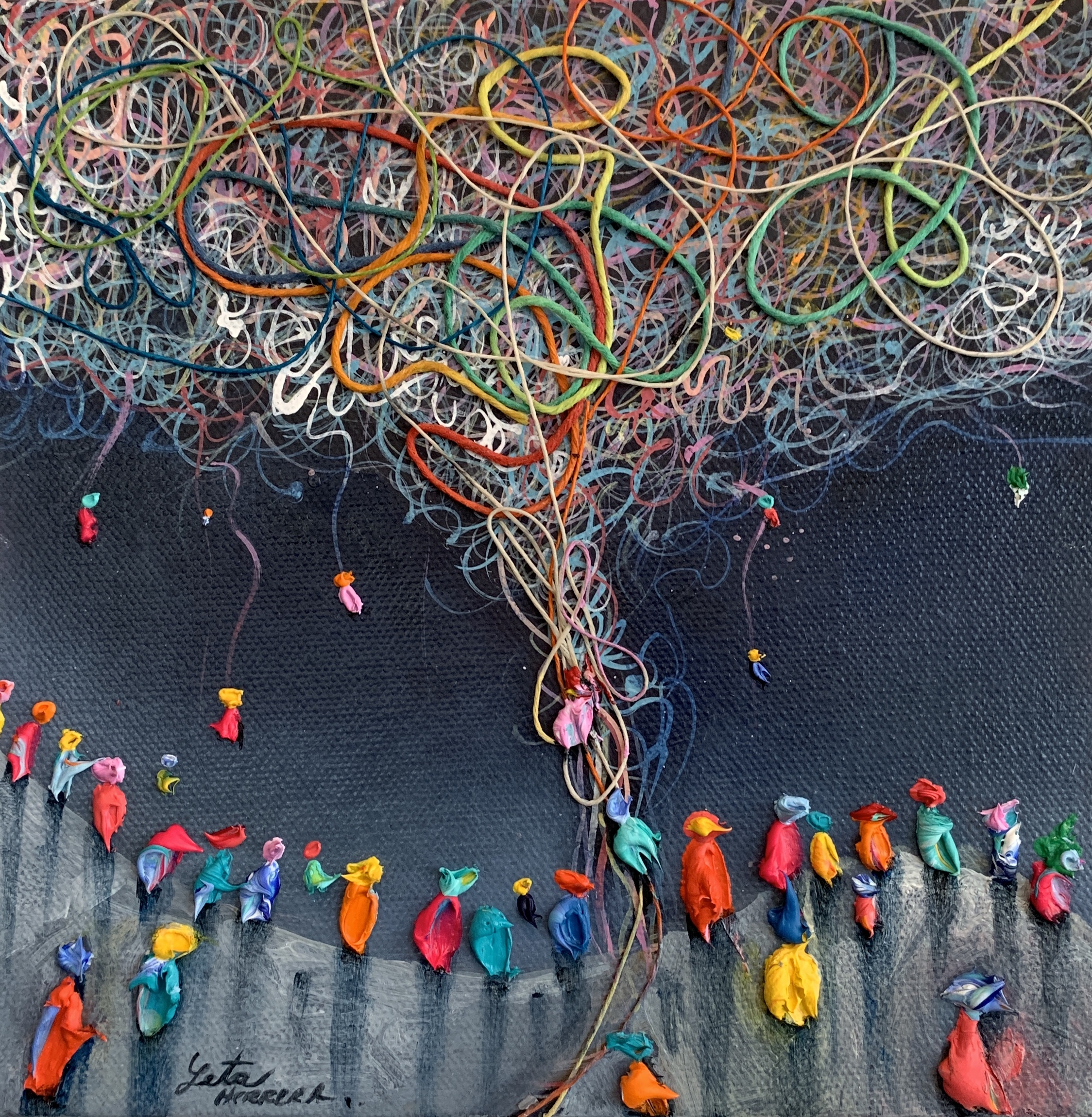 Hanging in There, 2019 - SOLD