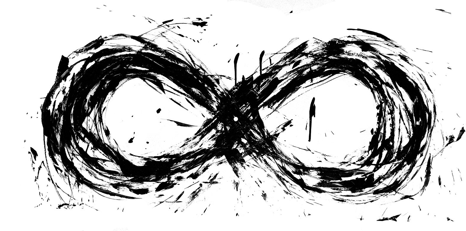 Infinity Emerging & Returning to its Own Centre (Archival Print) 36 x 24 inches, $222