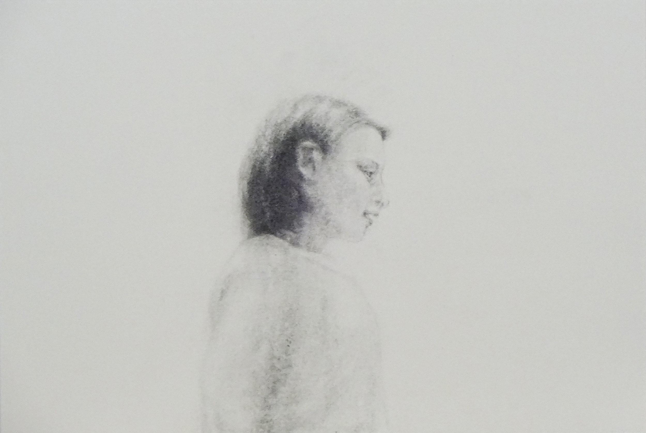 friend A, 2016. Artist:  Hiroko Oikawa . pencil on paper 38 ×54 cm $380