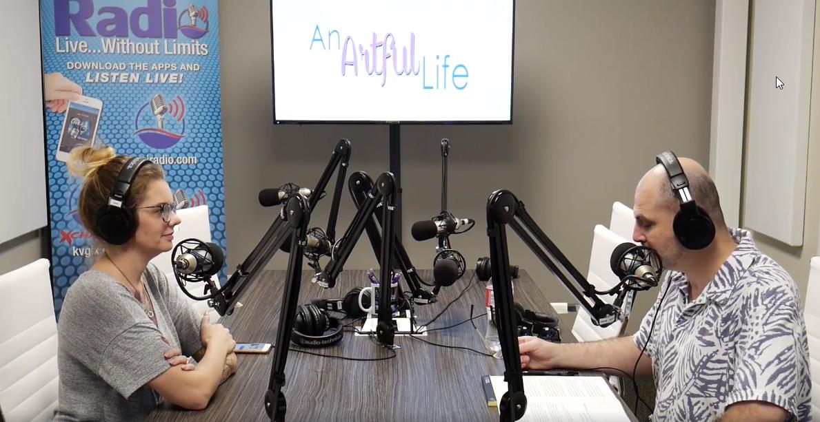 KVGI Radio interview: An Artful Life, with host Doug King