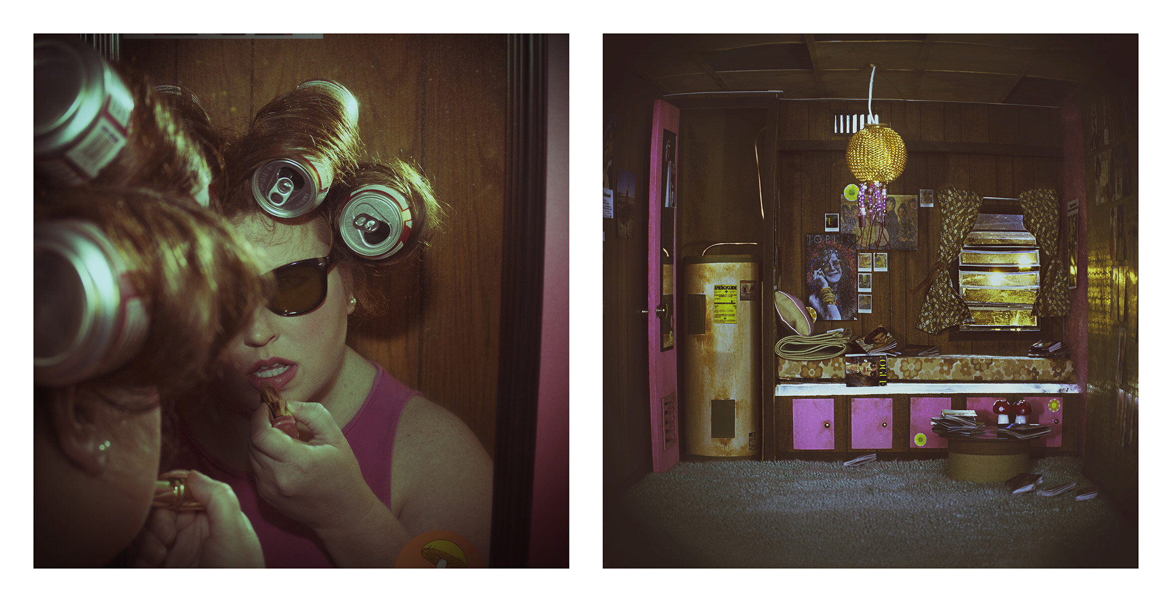 Pink Lemonade Semigloss, 2018, Hand built Diorama and Digital Photography, Size Varies, Price Upon Request