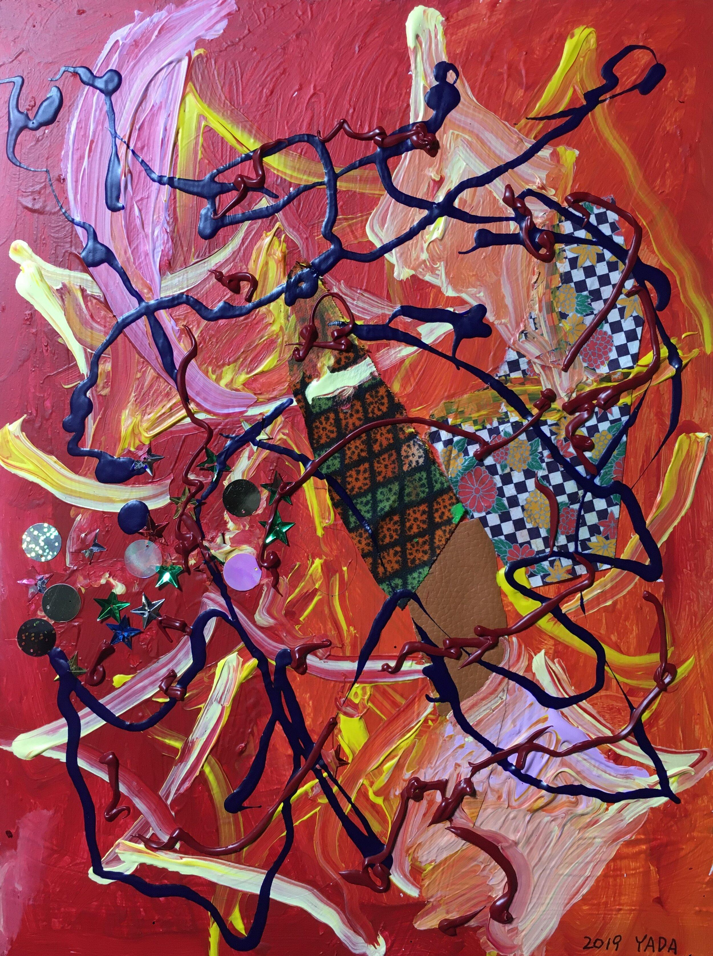 Passion, 2019, Mixed Media, 30 x 40 cm, $220