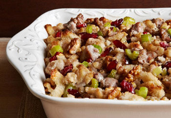 Cranberry Sausage Traditional Stuffing