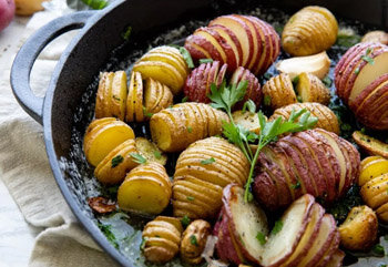 Butter Herb Roasted Potatoes