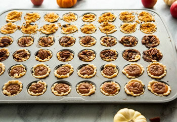 One Pan Mini Holiday Pies