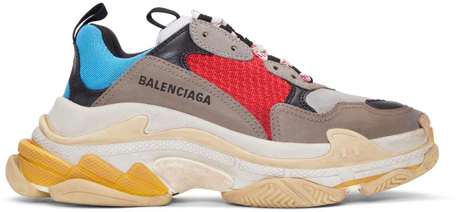 Multicolor Triple S Sneakers,  Balenciaga , $895