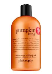 Philosophy Pumpkin Icing Shower Gel    ($18)