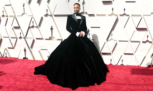 Undoubtedly the most talked about piece of the night (for good reason) Billy Porter stole the show in a custom Christian Siriano tuxedo gown.
