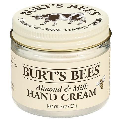 Burt's Bees Almond & Milk Hand Cream: $10.00