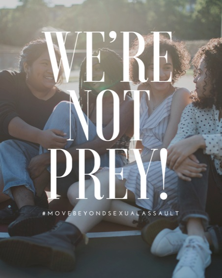 Speak Up and Fight. - It's time for every young woman, man, boy, and girl to take a stand and  declare that sexual assault and abuse will no longer be kept silent! We're NOT Prey! aims to be that voice for everyone. Join us in our fight to educate, heal, and spread awareness to survivors and the community!