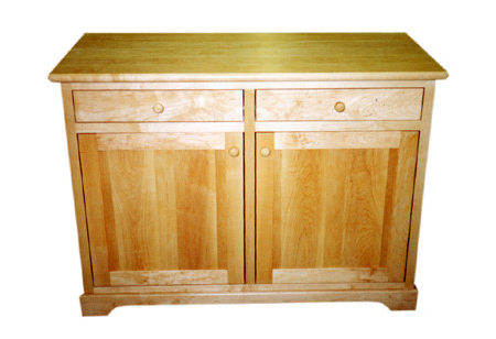 Maple Sideboard - Natural Oil Finish22