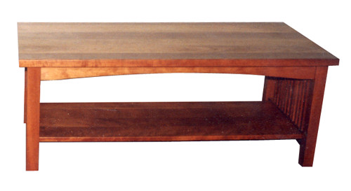 Cherry Coffee Table - Natural Oil Finish24