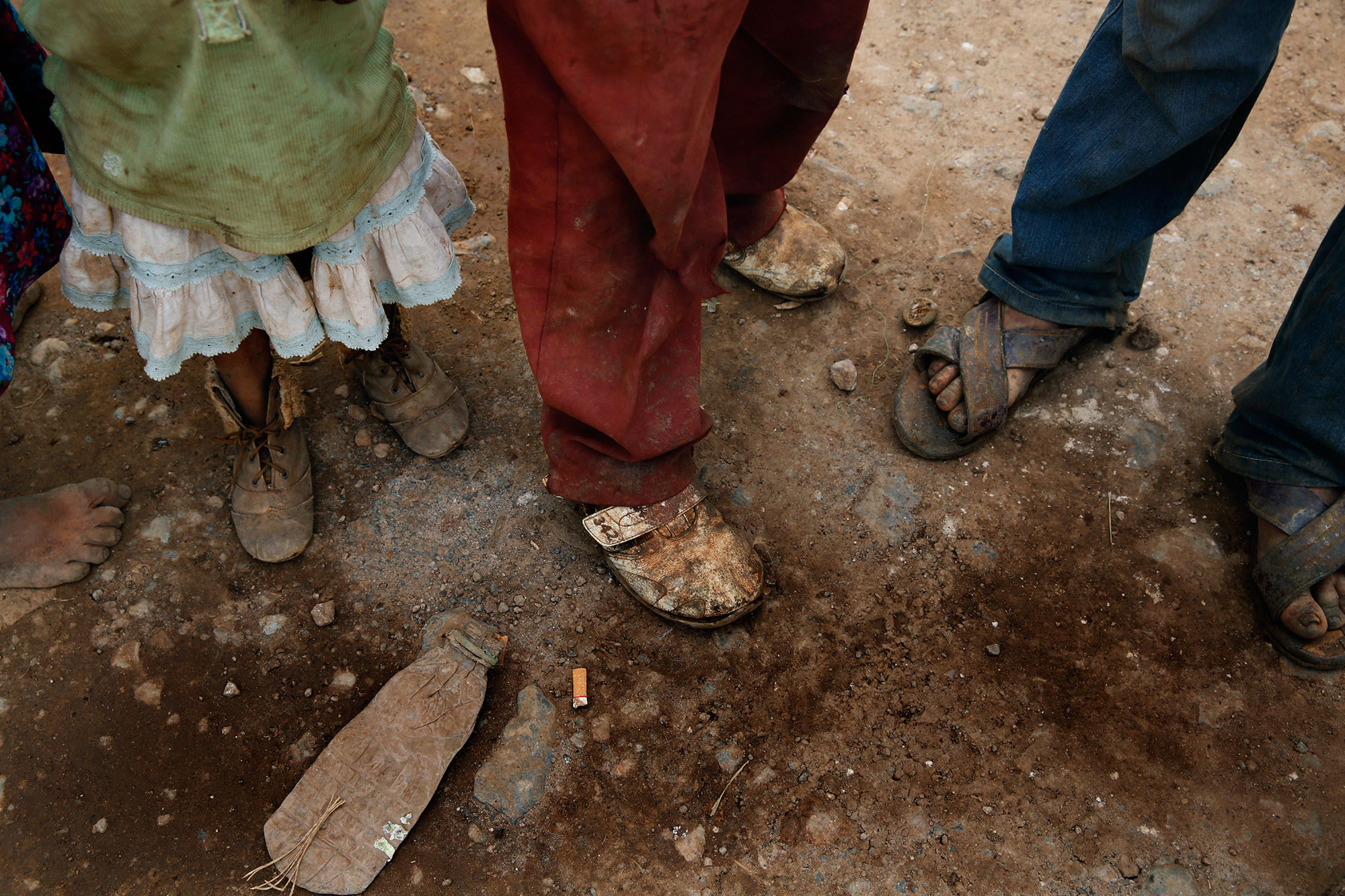 Toeing the Poverty Line