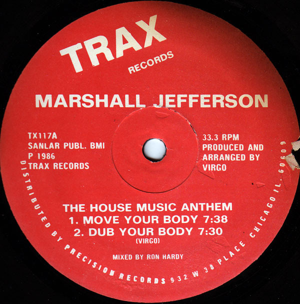 """Marshall Jefferson - """"Move Your Body"""""""