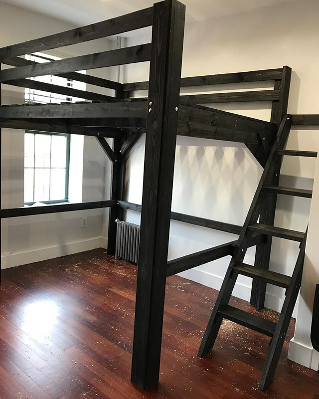 More space in #bronx #nyc #loftbed #apartmenttherapy