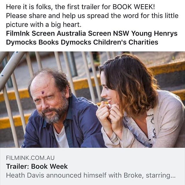 Book Week trailer is here https://youtu.be/SGdHbwg7Ox4  #movie #book #bookstagram #film #happy #laugh #share #