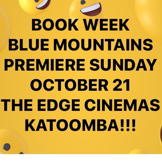 On sale soon #bluemountains #movie #premiere