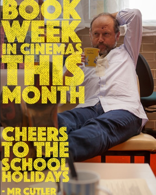 Is that just coffee in your mug? Mr Cutler wishes you happy school holidays boys and girls! #coffee #holidays #movie #teacher #school #movie @younghenrys